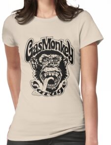 Gas Monkey Garage Womens Fitted T-Shirt