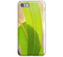 Eucalypt leaves iPhone Case/Skin