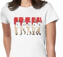 VOGUE shopping Girls Womens Fitted T-Shirt
