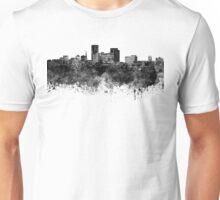 Lexington skyline in black watercolor Unisex T-Shirt