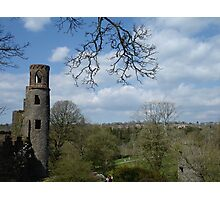 Blarney Castle View Photographic Print