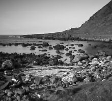 Rocky Bay Black & White by MarcoBell