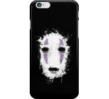 Ink Mask - No Face Chihiro Ghibli iPhone Case/Skin
