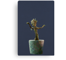 Baby Groot from Guardians of the Galaxy Canvas Print