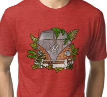 vw split screen camper  Tri-blend T-Shirt