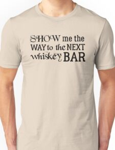 the doors rock lyrics jim morrison alabama song t shirts Unisex T-Shirt