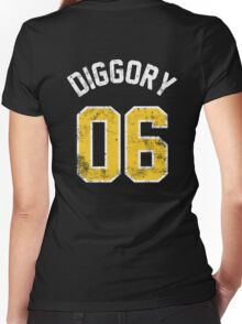 Cedric Diggory - Quidditch Training T-Shirt - NO.6 Women's Fitted V-Neck T-Shirt