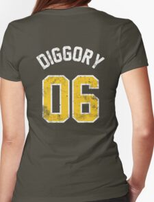 Cedric Diggory - Quidditch Training T-Shirt - NO.6 Womens Fitted T-Shirt