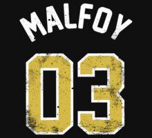 Draco Malfoy - Quidditch Shirt - NO.3 One Piece - Short Sleeve