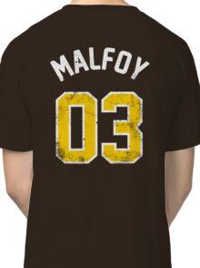 Draco Malfoy - Quidditch Shirt - NO.3 Classic T-Shirt