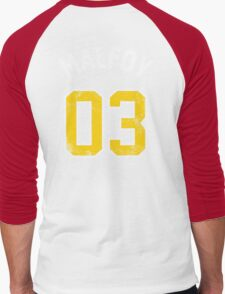 Draco Malfoy - Quidditch Shirt - NO.3 Men's Baseball ¾ T-Shirt