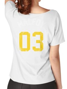 Draco Malfoy - Quidditch Shirt - NO.3 Women's Relaxed Fit T-Shirt
