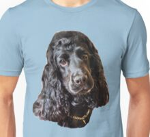 Cocker Spaniel headshot Unisex T-Shirt