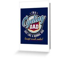 Cycling Dad Greeting Card