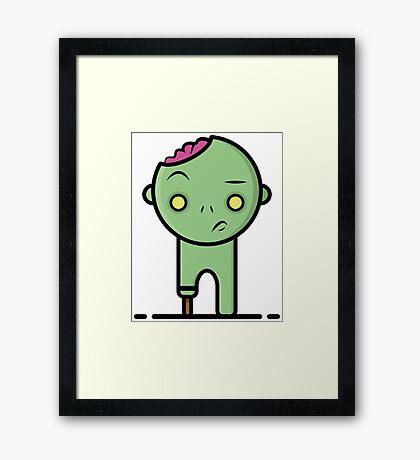 Zombi Framed Print