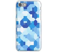 Octagon Overload - Blue iPhone Case/Skin