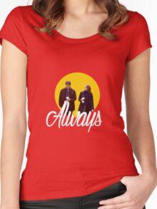 Caskett - Always Women's Fitted Scoop T-Shirt