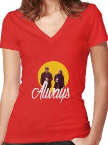 Caskett - Always Women's Fitted V-Neck T-Shirt