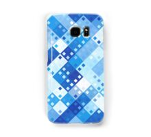 Square Dice - Blue Samsung Galaxy Case/Skin