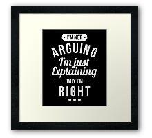Funny Sarcasm Framed Print