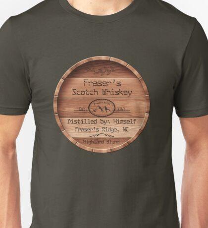 Fraser's scotch Whiskey barrel lid Unisex T-Shirt