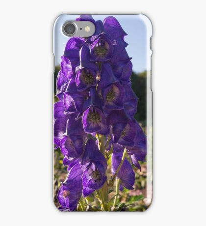 The Purple Bells iPhone Case/Skin