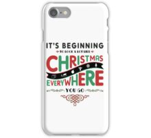 MERRY CHRISTMAS iPhone Case/Skin