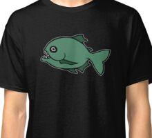 piranha poisson fish Classic T-Shirt