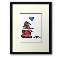 Sympathy of the Daleks Framed Print