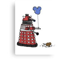 Sympathy of the Daleks Metal Print