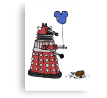 Sympathy of the Daleks Canvas Print