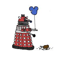 Sympathy of the Daleks Photographic Print