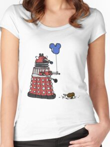 Sympathy of the Daleks Women's Fitted Scoop T-Shirt