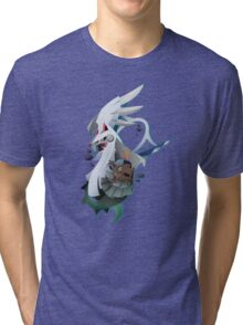 Type: Null and Silvally Tri-blend T-Shirt