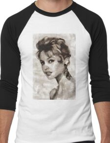 Brigitte Bardot Hollywood Icon Men's Baseball ¾ T-Shirt