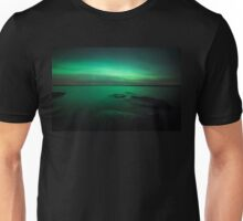 Mystic northern lights glow Unisex T-Shirt