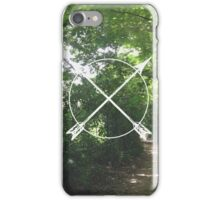 Cross Arrows iPhone Case/Skin
