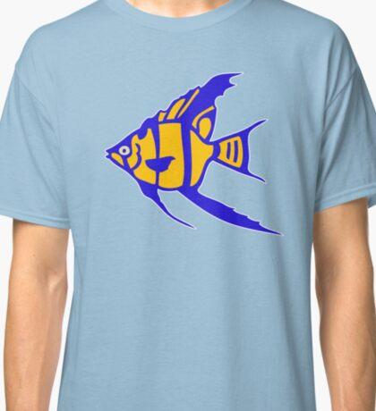 Fish angelot poisson aquarium Classic T-Shirt