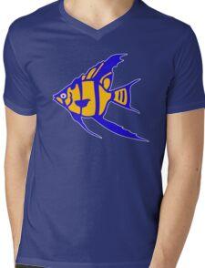 Fish angelot poisson aquarium Mens V-Neck T-Shirt