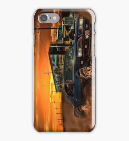 East Bound And Down iPhone Case/Skin