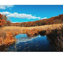Autumnal Pond  Photographic Print