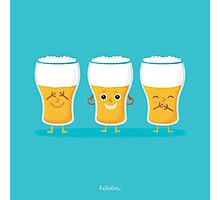 three wise pints Photographic Print