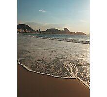 Copacabana Beach Ocean Shore  Photographic Print