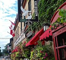 Another view of the Goose and Gridiron Pub, Merrickville, ON Canada by Shulie1