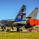 """Mikoyan MiG-31 """"Foxhound"""" white 374 by Colin Smedley"""