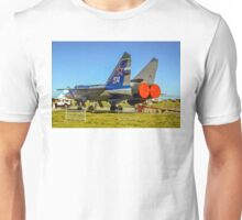 "Mikoyan MiG-31 ""Foxhound"" white 374 Unisex T-Shirt"
