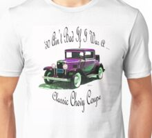 Birthday products for a 30 yr. old; Chevy Unisex T-Shirt