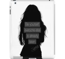 Selena Gomez iPad Case/Skin