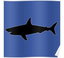 shark requin tiburon Poster