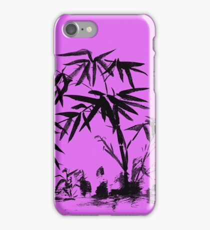 Bamboo in Water iPhone Case/Skin